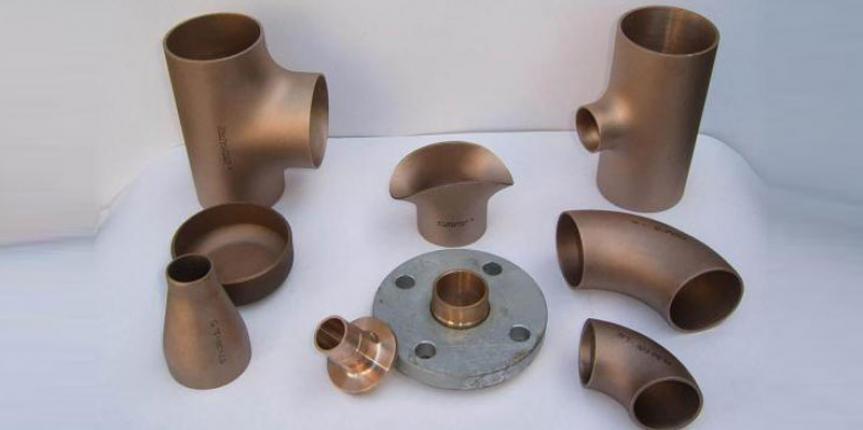 Copper nickel pipe fittings elbow cuni flange ranflex