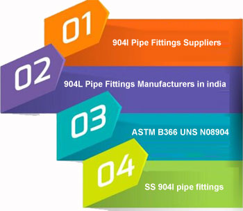 ASTM B366 904l Pipe Fittings Manufacturers In India
