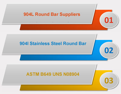 904l Round Bars / Rods Suppliers in India
