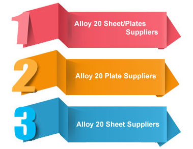 Alloy 20 Sheet/Plates Suppliers in India