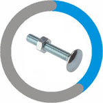 Monel Carriage Bolts