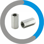 Alloy 20 Coupling Nuts