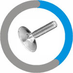Hastelloy C22 Elevator Bolts
