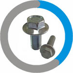 Inconel 12 Point Flange Bolt