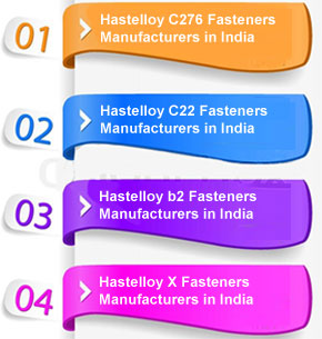 Hastelloy B2 Fasteners Suppliers in India