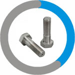 Incoloy 800H Heavy Hex Cap Screws & Heavy Hex Bolts