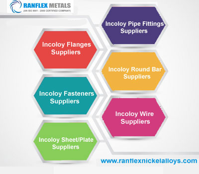 Incoloy Flange,Fasteners,Sheet,Pipe Fittings,Round Bar,Wire Suppliers in India