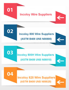 Incoloy 800 Wire Suppliers In India