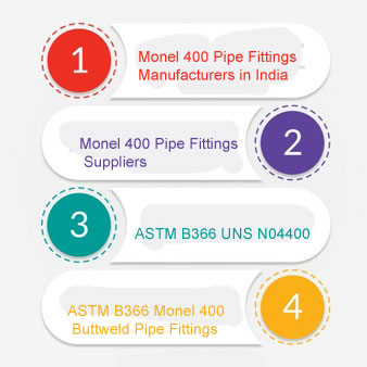 ASTM B366 Monel 400 Pipe Fittings Manufacturers In India