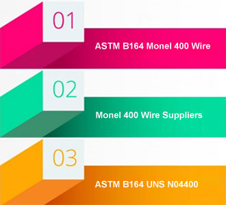 Monel 400 Wire Suppliers In India