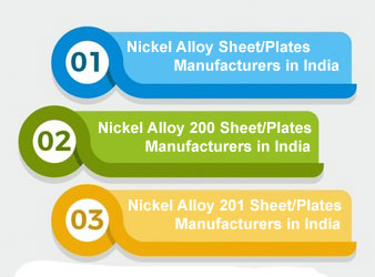 Nickel Alloy Sheet/Plates Manufacturers in India