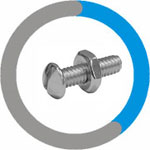 Hastelloy C22 Stove Bolt